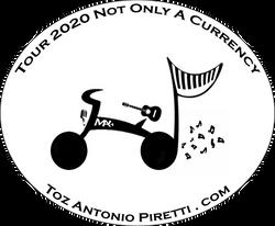 Toz Antonio Piretti - a bike & a guitar
