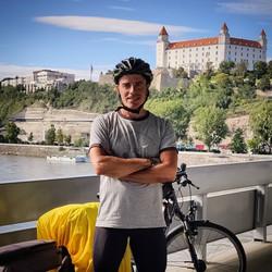 Ride 58 - day 81 - from Wien (Austria) to Bratislava (Slovakia) - 2 September 20