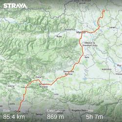 Ride 62 - day 85 - from Zgornja Velka to Celje - 6 September 20