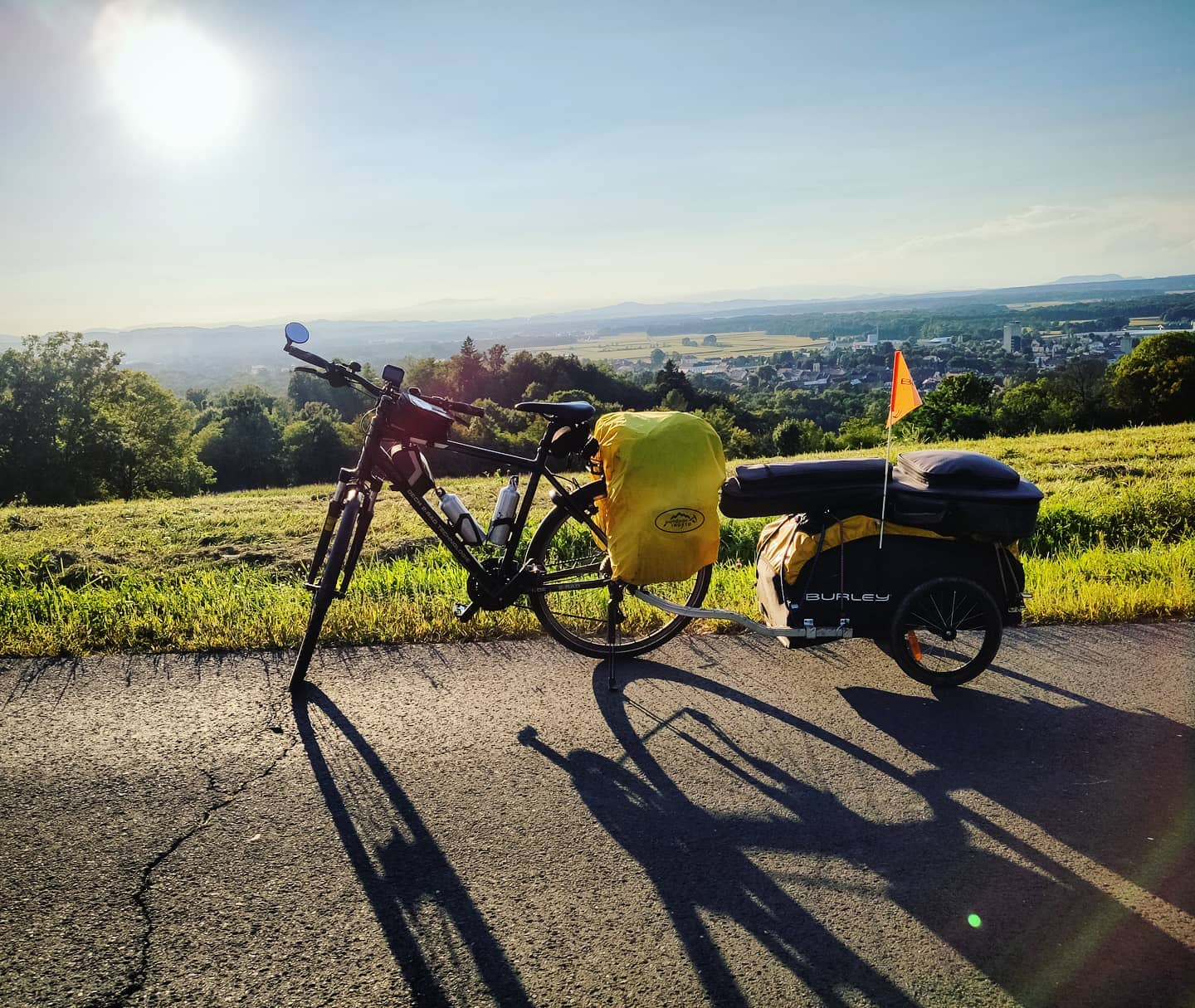 Ride 61 - day 84 - from Bad Tatzmannsdorf (Austria) to Zgornja Velka - 5 September 20
