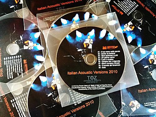 CD - ALBUM - ITALIAN ACOUSTIC VERSIONS