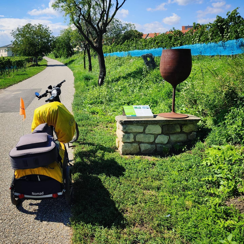 Ride 59 - day 82 - from Bratislava (Slovakia) to Eisenstadt - 3 September 20