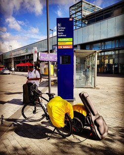day 79 - from Vilnius (Lithuania) to Wien (Austria) via Berlin (Germany) - 30 August 20