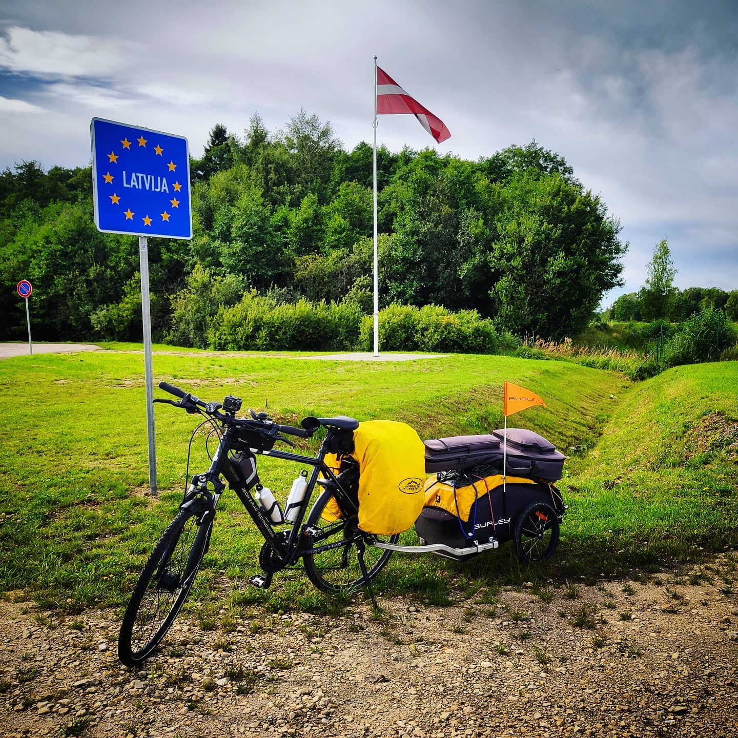 Ride 53 - from Parnu (Estonia) to Tuja (Latvia) - 26 August 20
