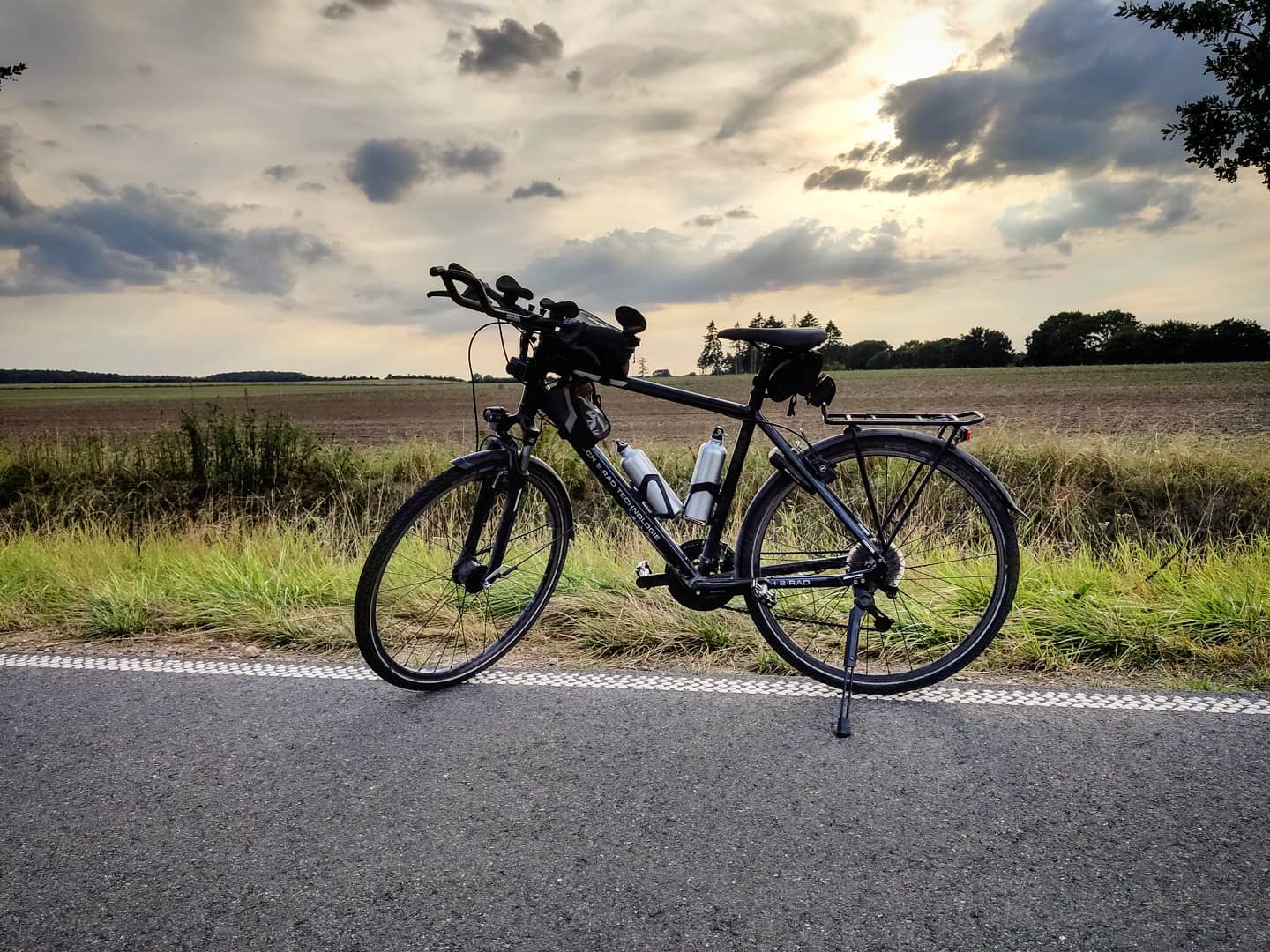 Ride 49 - from Ratzeburg (Partner Bicycle Store) to Seedorf - 19 August 20