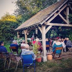 concert at Courtenay (France)