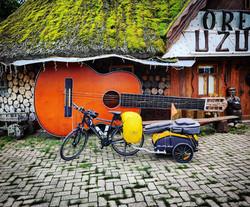 Ride 56 - day 77 - from Panevėžys to Kalimynai (Lithuania) - 28 August 20