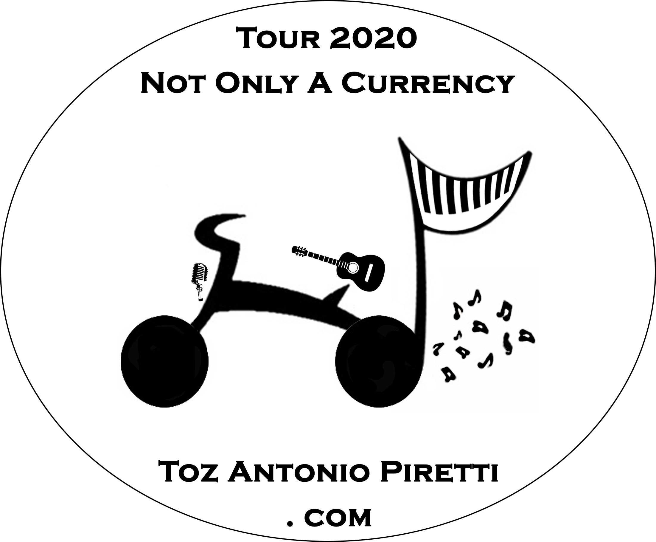 Toz Antonio Piretti - a Bike & a Guitar