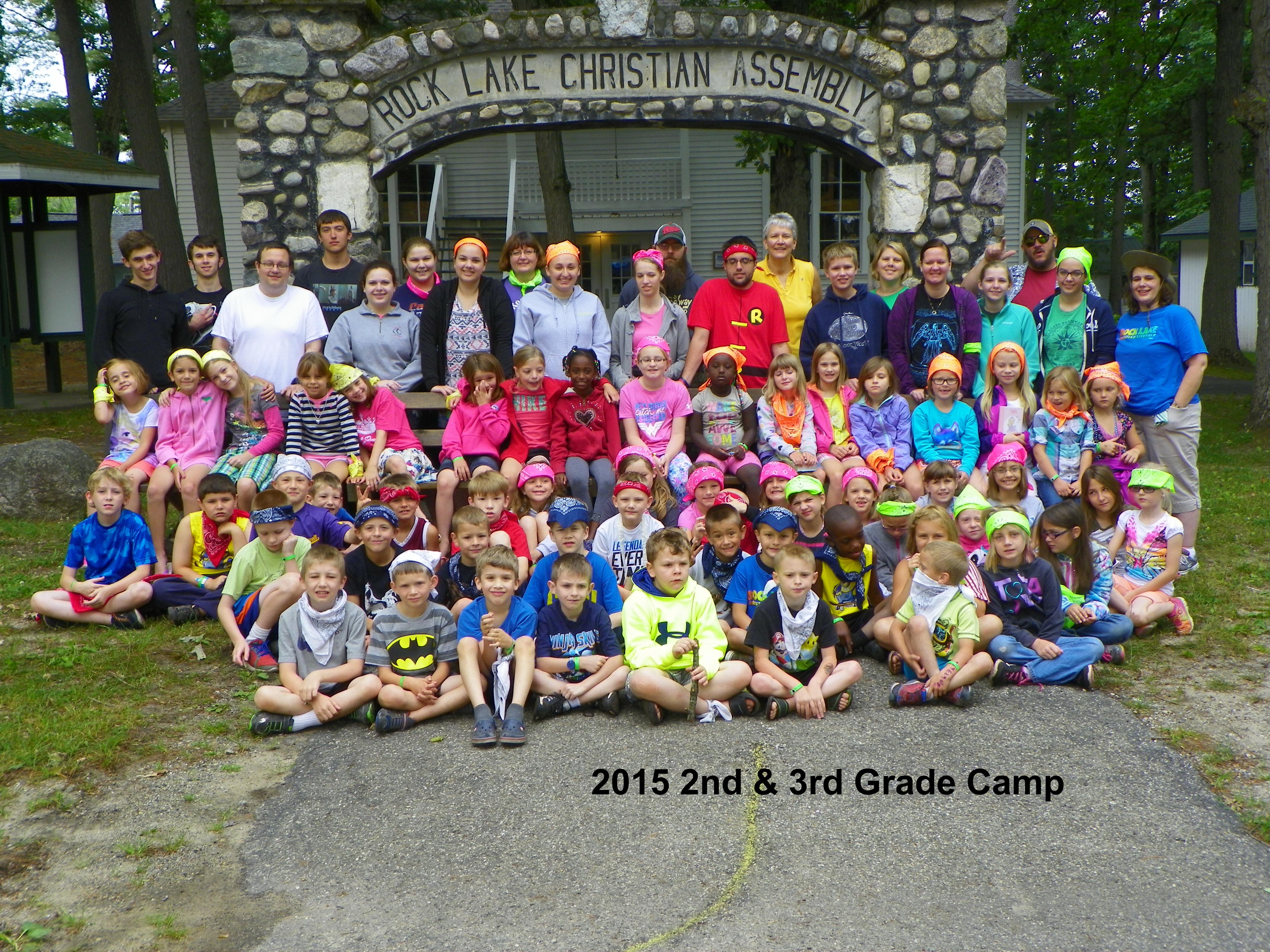 2nd & 3rd Grade Camp