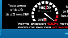 Fond2Six : Une émission de radio 100% genevoise et 100% Moto