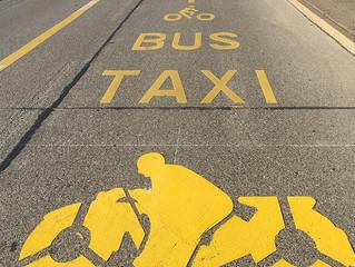 Genève: La voie de bus route de Ferney ouverte au 2RM.
