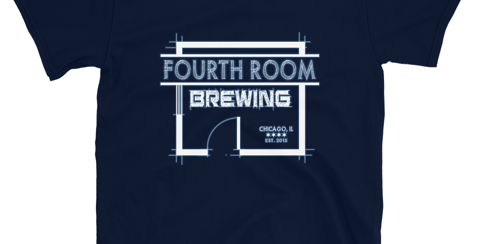 Fourth Room Brewing Logo Short-Sleeve Unisex T-Shirt