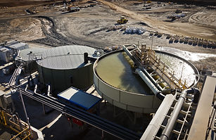 Processing Plant at Lithium Mine in West