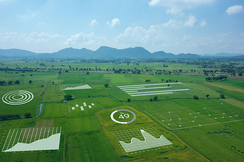 smart farm ,agriculture concept, farmer