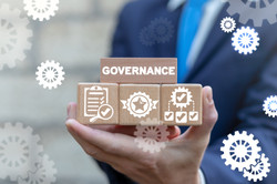 Governance Business Management Concept.