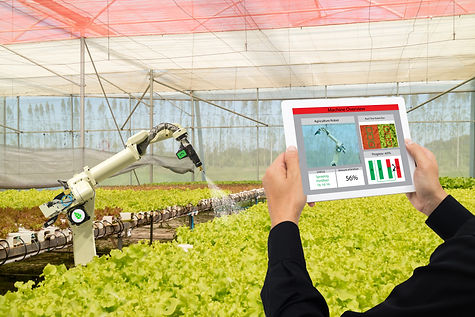 iot smart industry robot 4.0 agriculture