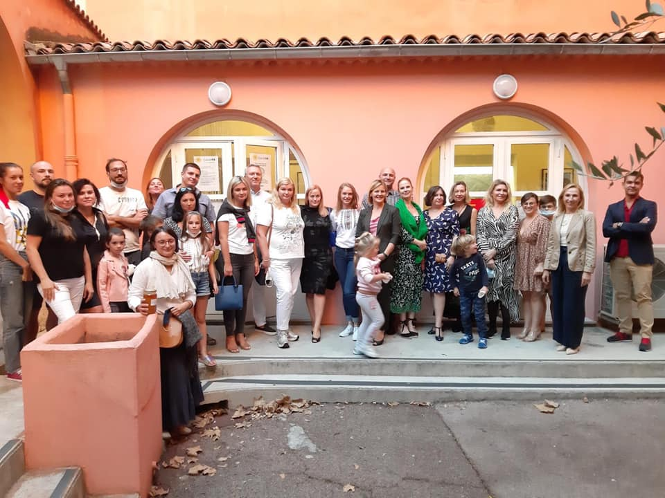 Rencontre de l'association, Nice, septem