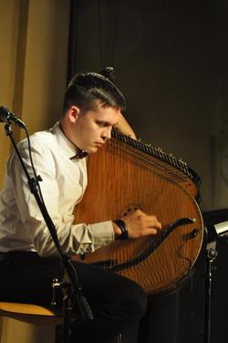 Yaroslav Dzhus lors du concert Bandura,