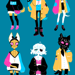 CMYK cats & dogs