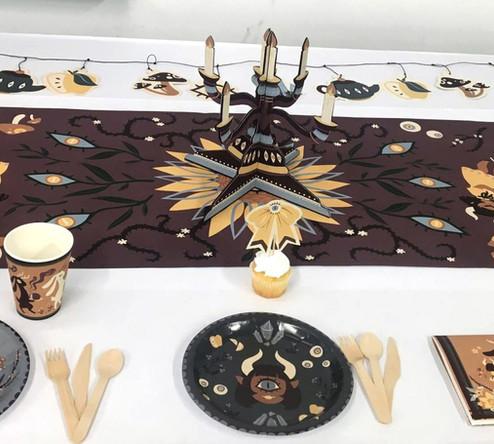 tea party: full spread