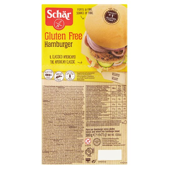 Hamburger Bun 4x75g