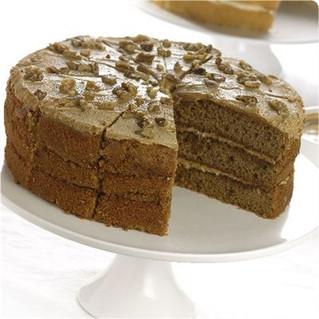 Coffee and walnut cake...