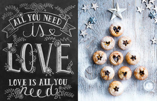 All you need is love and some mini mince pies! <3  #newchristmasproducts #welovechristmas #christ