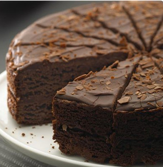 Try our chocolate sponge filled with a chocolate buttercream icing...