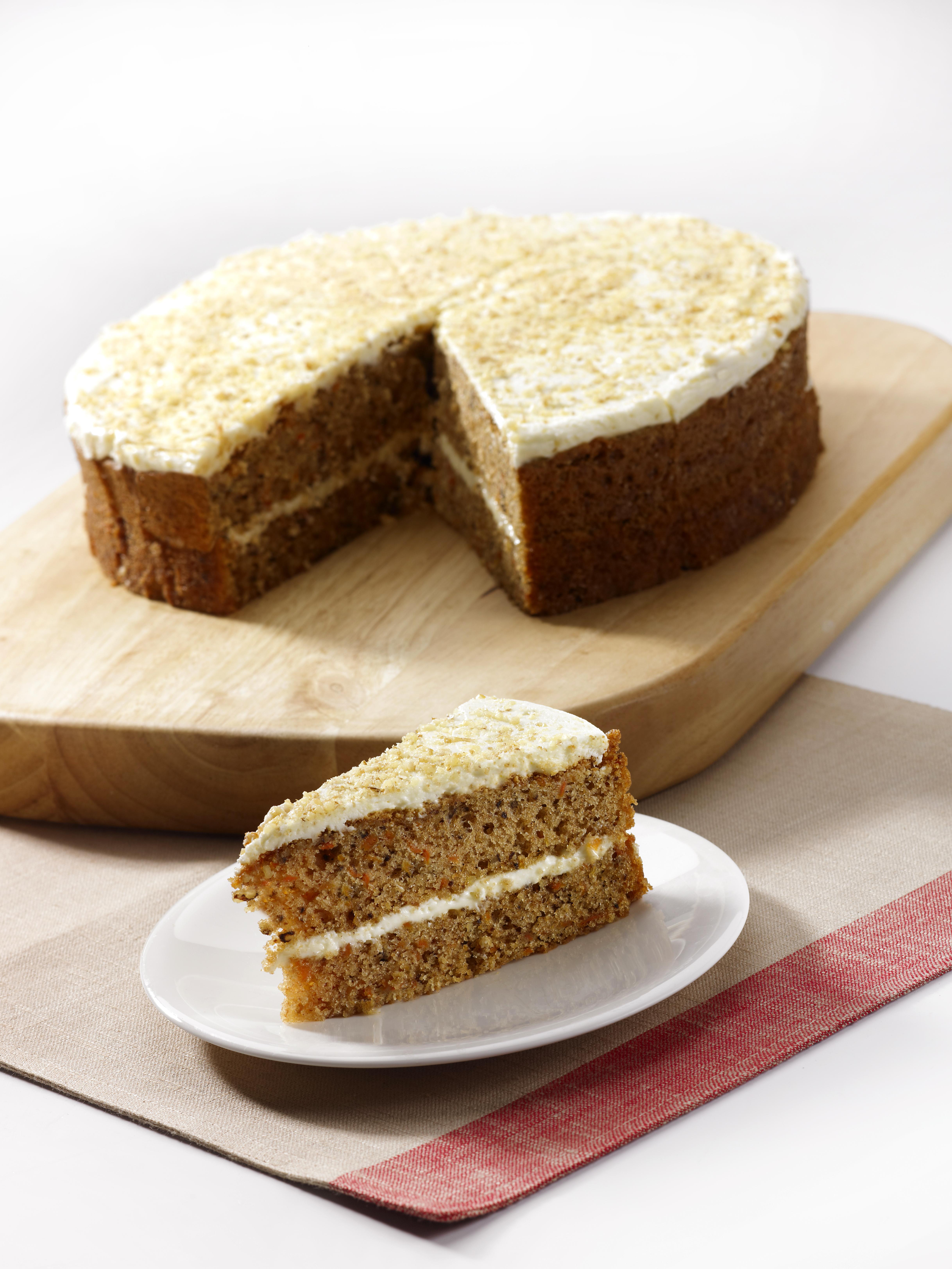 HCC072501 Round Carrot Cake