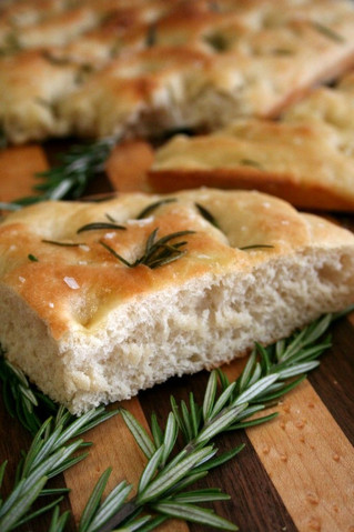 Introducing our beautiful Tomato & Rosemary Focaccia, oozing with olive oil for that perfect tex