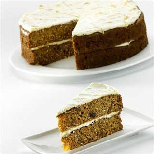 Try our moist carrot sponge with pineapple pieces, sultanas & coconut...