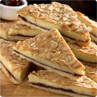 Try Our Black Cherry & Almond Slice...