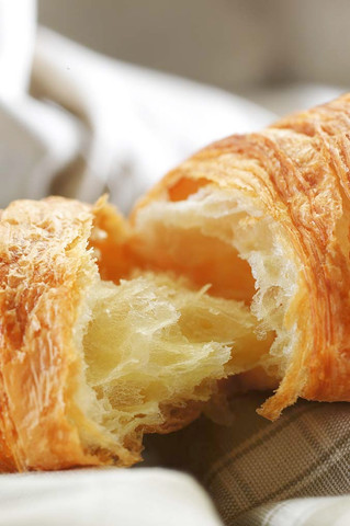 We offer a range of viennoiserie with 27% pure fresh butter...