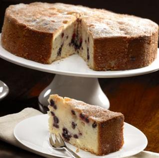 New! Blueberry & Lemon Drizzle Cake ...