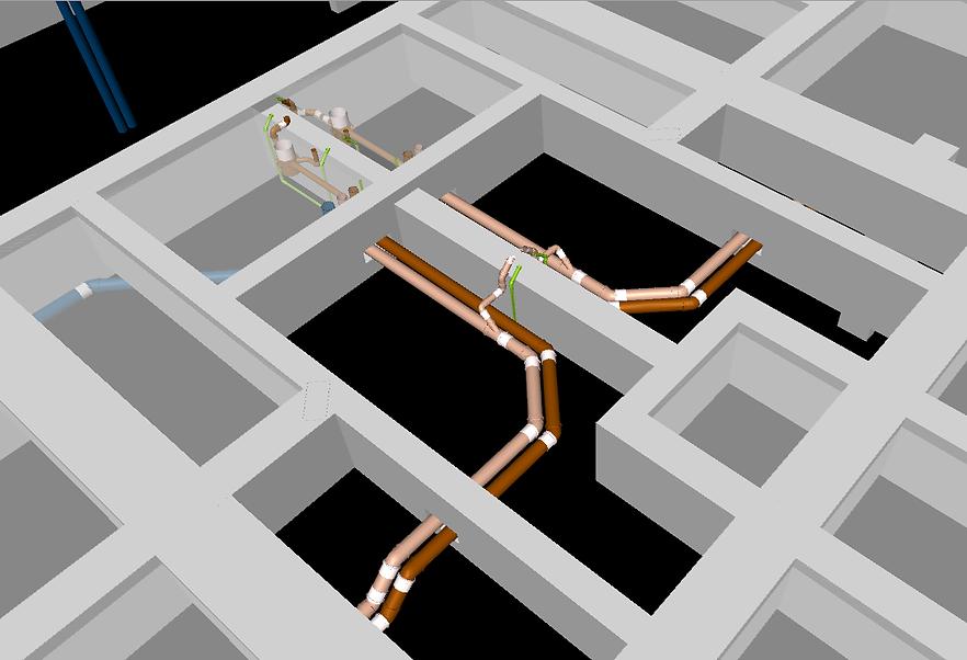 Compatibilização de projetos em BIM de um edifício MCMV
