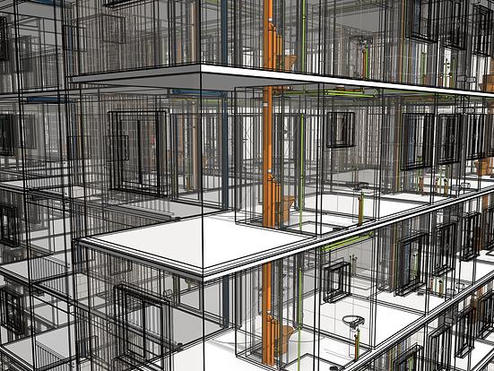 A construção 3D e a integração explícita entre as diversas disciplinas