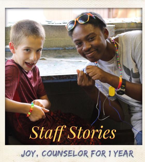 Staff Stories: Joy