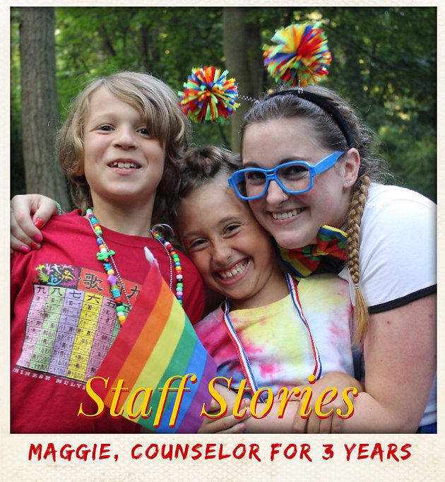 Staff Stories: Maggie   Home   Camp Highlight