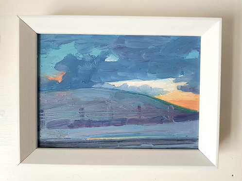 A5 Framed Oil Painting- Snowdonia
