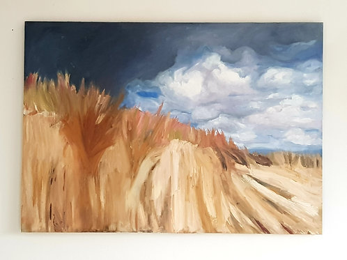 A1 Oil Painting- Sand Dunes (NFS)