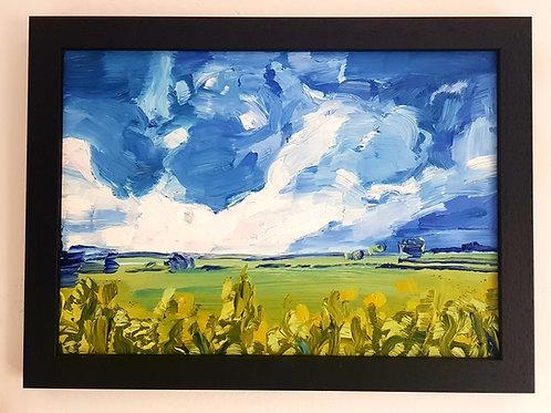 Framed Oil Painting (NFS)