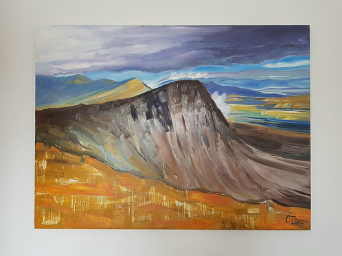 Large Scale 120x80cm Mountainscape Snowdonia (NFS)
