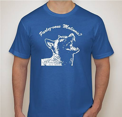 Blue ParlezVous TShirt (SM and LG ONLY)
