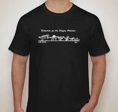 Evolution of the Belgian Malinois T-Shirt