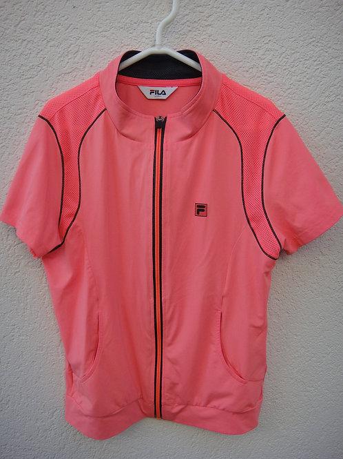 FILA short sleeve jacket & Tshirt