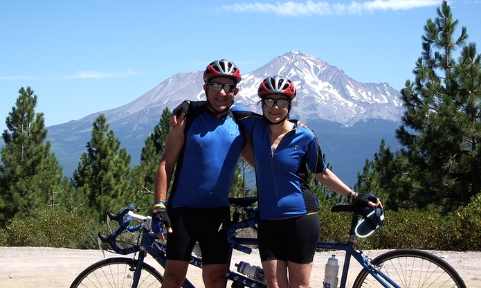 Riding the Mt. Shasta