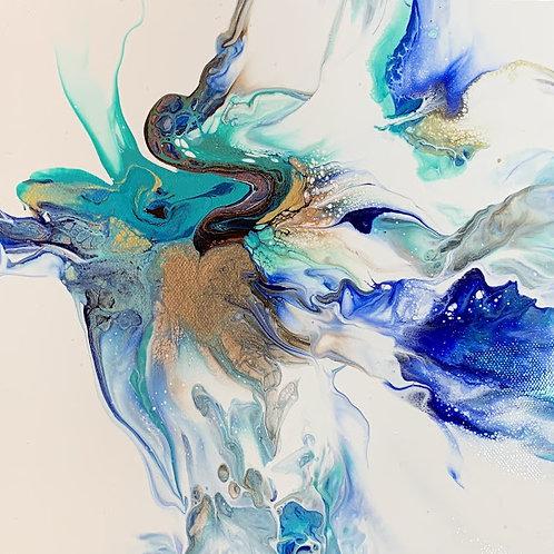 """""""Ethereal Flower Series #4"""" by Kris Davis"""