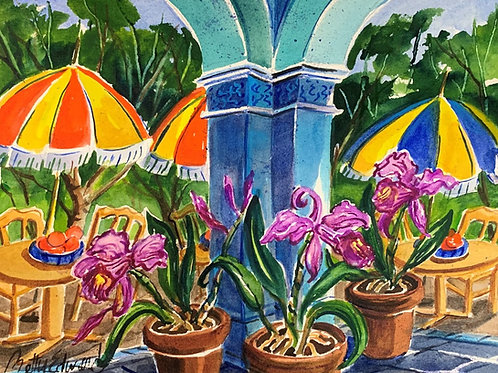 """Mexico Orchids"" by Betty Bivins Edwards"