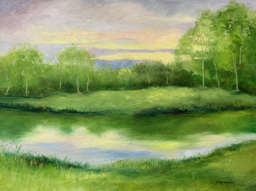"""""""Placid Pond"""" by Ginger Concepcion"""