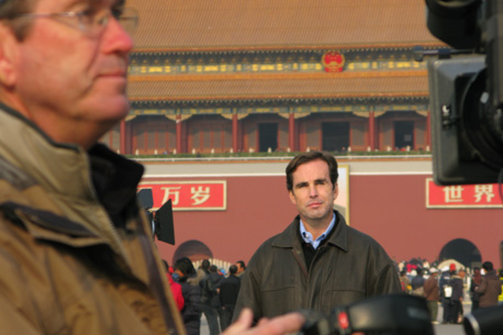 Woodruff reports from Tiananmen Squa